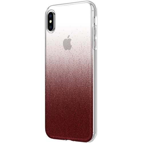 Incipio Designer Series Classic Case for iPhone Xs Max (Cranberry Sparkler)