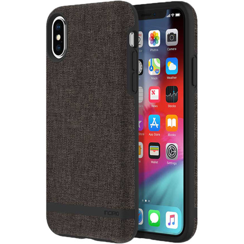 Incipio Esquire Series Carnaby Case for iPhone Xs (Gray)
