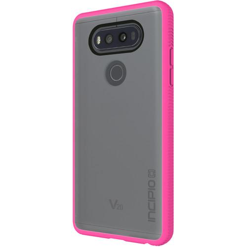 Incipio Octane Case for LG V20 (Highlighter Pink/Frost)