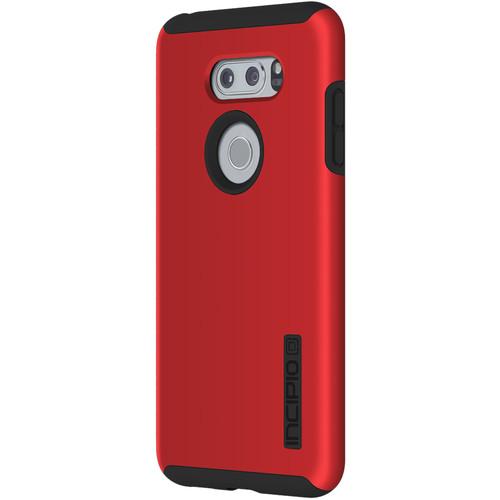 Incipio DualPro Case for LG V30 (Iridescent Red/Black)