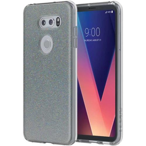 Incipio Design Series Case for LG V30 (Midnight Chrome Multi-Glitter)