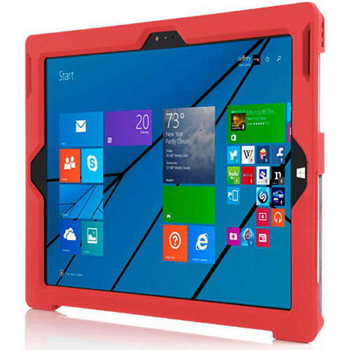 Incipio Feather Advance Ultra Thin Snap-On Case for Microsoft Surface Pro 3 (Red)