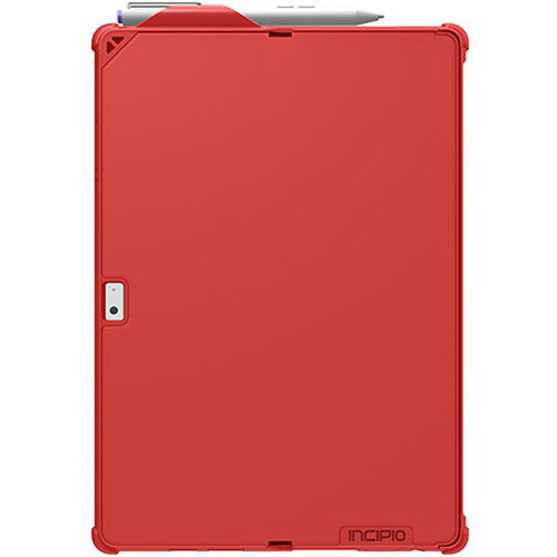 Incipio Feather Hybrid Rugged Case with Shock Absorbing Frame for Microsoft Surface 3 (Red)