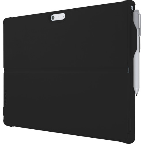 Incipio Feather Hybrid Case with Shock Absorbing Frame for Surface Pro 4 (Black)