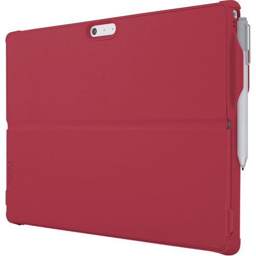 Incipio Feather Hybrid Case with Shock-Absorbing Frame for Surface Pro/Pro 4 (Red)