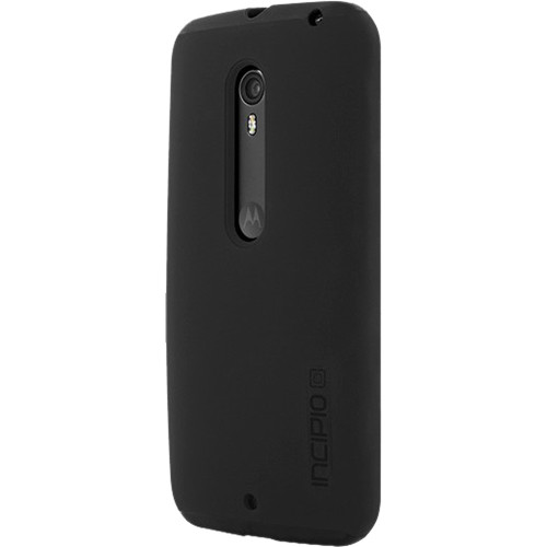 Incipio DualPro Case for Motorola Moto X Pure Edition/Moto X Style (Black/Black)