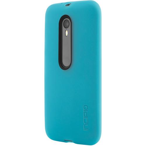 Incipio NGP Flexible Impact-Resistant Case for Motorola Moto G (3rd Gen., Cyan)