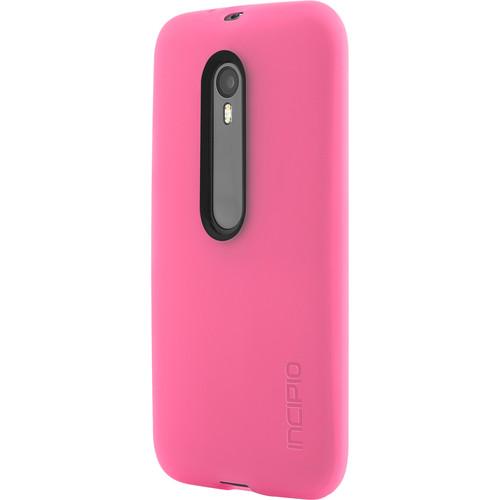 Incipio NGP Flexible Impact-Resistant Case for Motorola Moto G (3rd Gen., Pink)