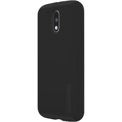 Incipio DualPro Case for Motorola Moto G4/G4 Plus (Black/Black)