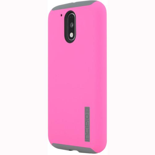 Incipio DualPro Case for Motorola Moto G4/G4 Plus (Pink/Gray)