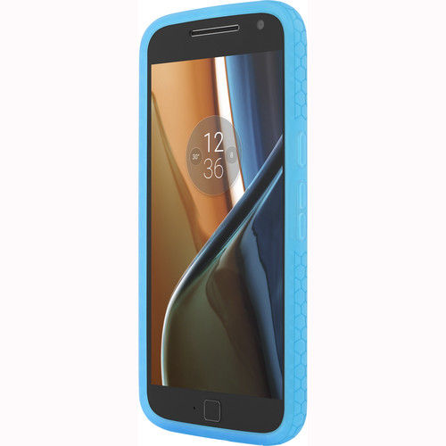 Incipio Octane Case for Motorola Moto G4/G4 Plus (Frost/Cyan)