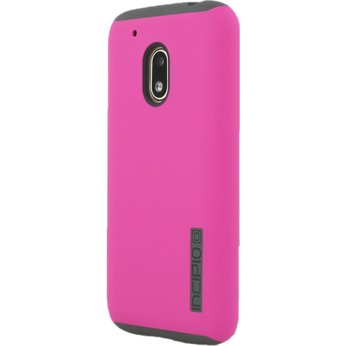 Incipio DualPro Case for Motorola Moto G4 Play (Pink/Charcoal)