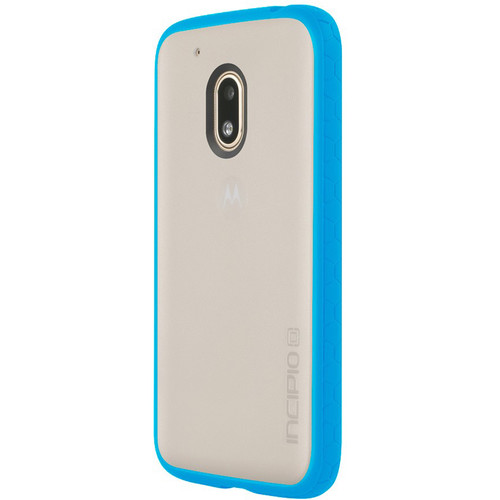 Incipio Octane Case for Motorola Moto G4 Play (Frost/Cyan)