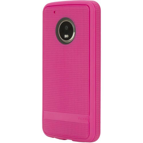 Incipio NGP [Advanced] Case for Moto G5 Plus (Berry Pink)