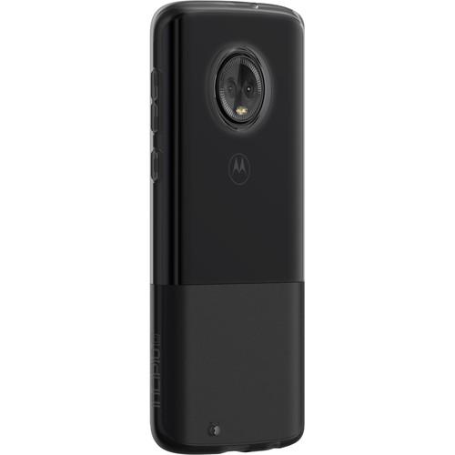 Incipio NGP Flexible Shock Absorbent Case for Moto G6 (Smoke)