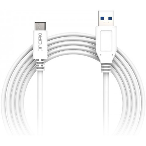 Incipio USB 3.1 Type-A Male to USB Type-C Male Cable (3.3')
