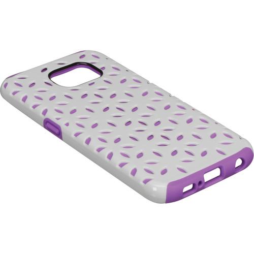 Incipio Dualpro Detail Case for Galaxy S6 (White/Purple)