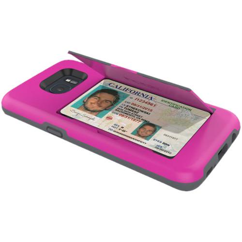 Incipio STOWAWAY Case for Galaxy S7 (Pink)