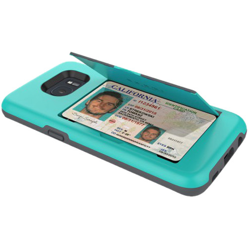 Incipio STOWAWAY Case for Galaxy S7 (Teal)