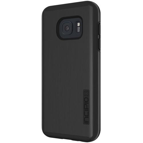 Incipio DualPro SHINE Case for Galaxy S7 (Black/Black)