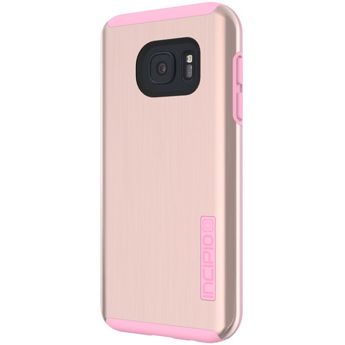 Incipio DualPro SHINE Case for Galaxy S7 (Gold/Pink)