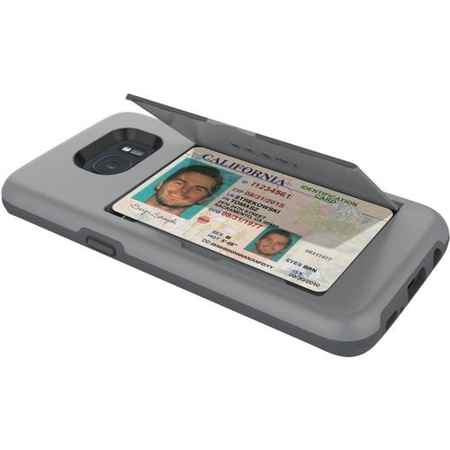 Incipio STOWAWAY Case for Galaxy S7 edge (Gray)