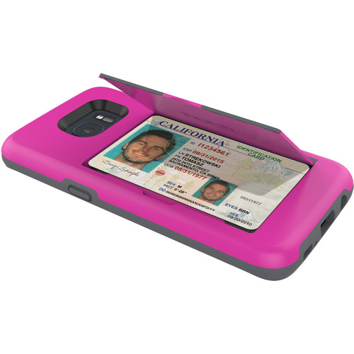 Incipio STOWAWAY Case for Galaxy S7 edge (Pink)