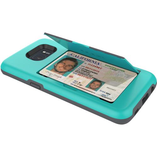 Incipio STOWAWAY Case for Galaxy S7 edge (Teal)