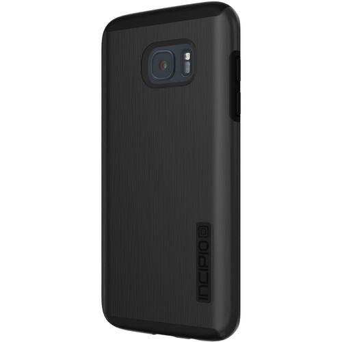 Incipio DualPro SHINE Case for Galaxy S7 edge (Black/Black)