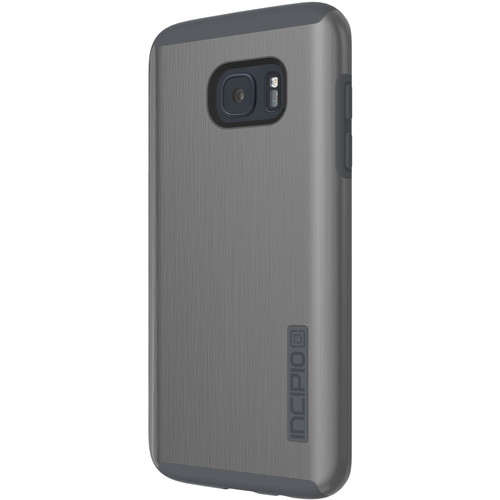 Incipio DualPro SHINE Case for Galaxy S7 edge (Gunmetal/Gray)