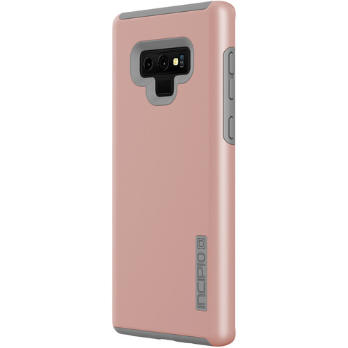 Incipio DualPro Case for Samsung Galaxy Note9 (Iridescent Rose Gold/Gray)