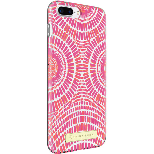 TRINA TURK Trina Turk Translucent Case for iPhone 7 Plus (Samba De Roda Pink/Clear)