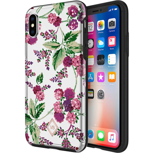 Incipio Vera Bradley Berry FlexFrame Case for (iPhone X)