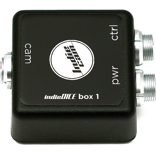 INDIECAM Connection Box Single for indieDICE Camera