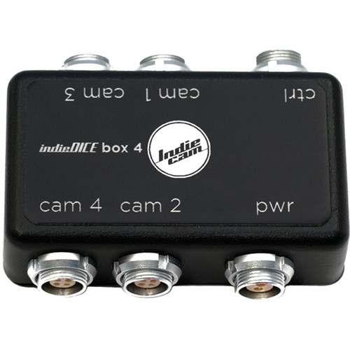 INDIECAM Connection Box 4x for indieDICE Camera