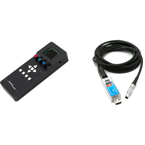 INDIECAM indieREMOTE with Control Cable for indieDICE Camera