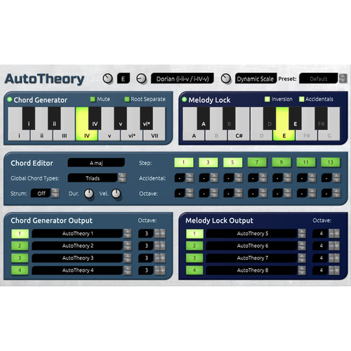 Mozaic Beats AutoTheory - Chord Generator/Open Arpeggiation System (Download)