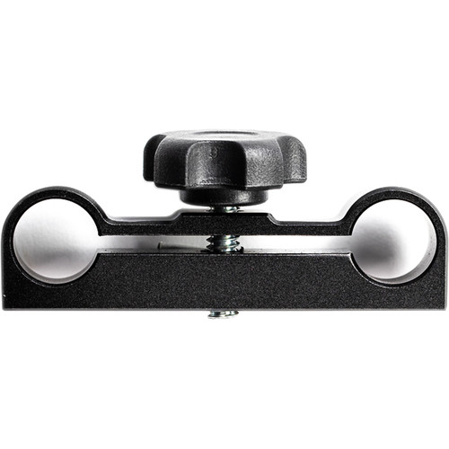 """IndiPRO Tools Dual 15mm Rod Clamp with 1/4""""-20 for Power Pod"""
