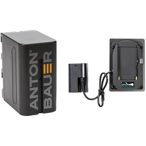 IndiPRO Tools 47Wh Sony L-Series Battery Kit for Blackmagic Pocket Cinema Camera 4K