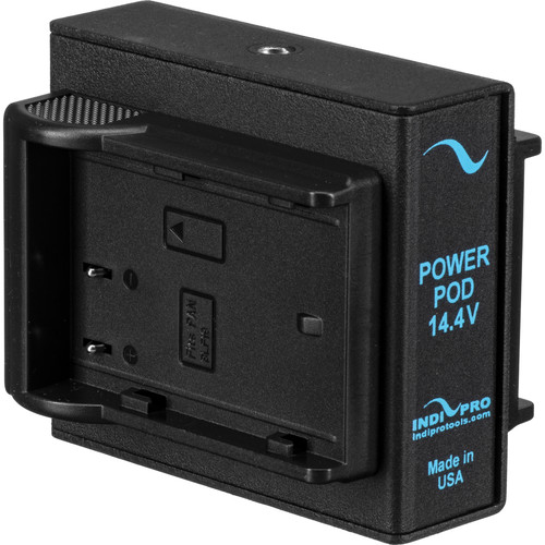 IndiPRO Tools Dual Power Grid System for GH-4 via 2 Panasonic DMW-BLF-19 Batteries