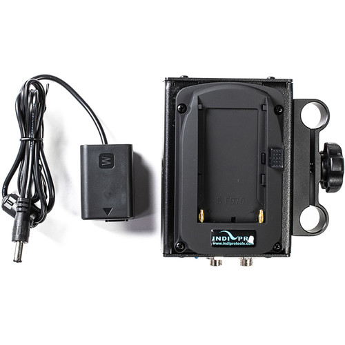 IndiPRO Tools Dual Sony L-Series Power System to Sony NP-FW50 Dummy Battery (7.2V)