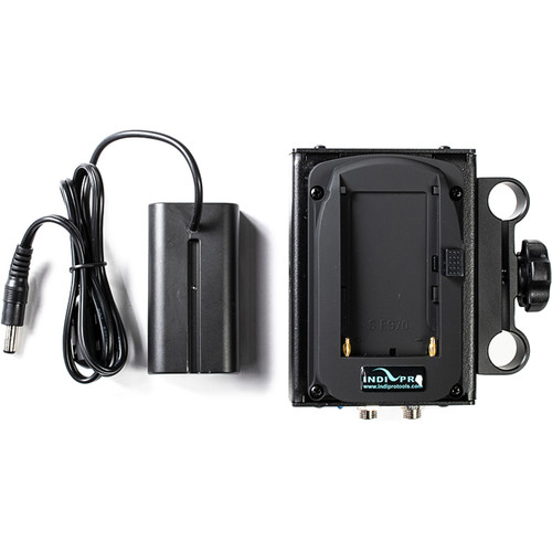 IndiPRO Tools Dual Sony L-Series Power System to Sony L-Series Dummy Battery (7.2V)
