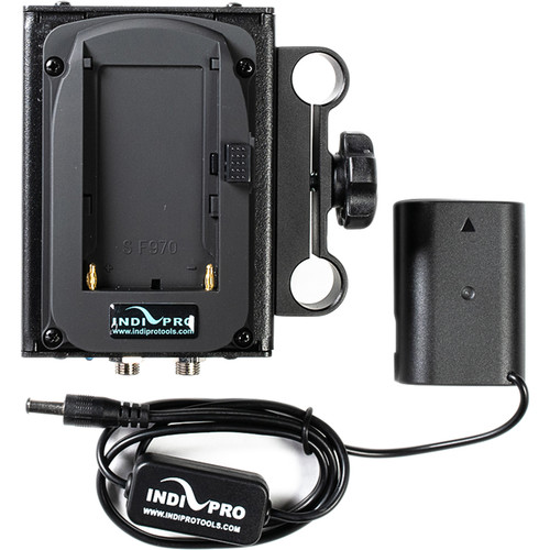 IndiPRO Tools Dual Sony L-Series Power System to Panasonic DMW-BLF19 Dummy Battery