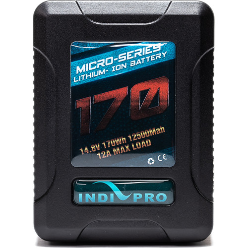 IndiPRO Tools Micro-Series Gold Mount Li-Ion Battery (170Wh)