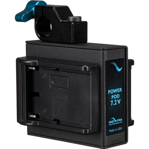 IndiPRO Tools Power Grid System Single Sony-L Type Battery Plate for GoPro