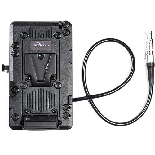 """IndiPRO Tools V-Mount Battery Plate with 8"""" Cable for RED EPIC & SCARLET"""