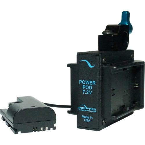 IndiPRO Tools Dual Power Grid System with Dummy Canon LP-E6 Battery for Canon DSLR Cameras