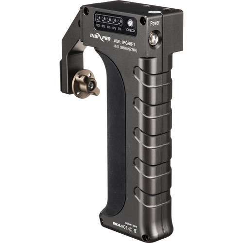 IndiPRO Tools Universal Power Grip with Built-In Battery (Gray)