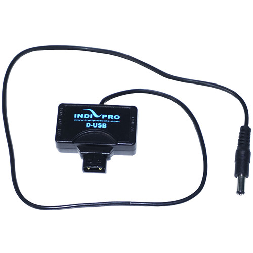 IndiPRO Tools Mini-Tap with Blackmagic Production / Cinema Camera Power Connector Cable