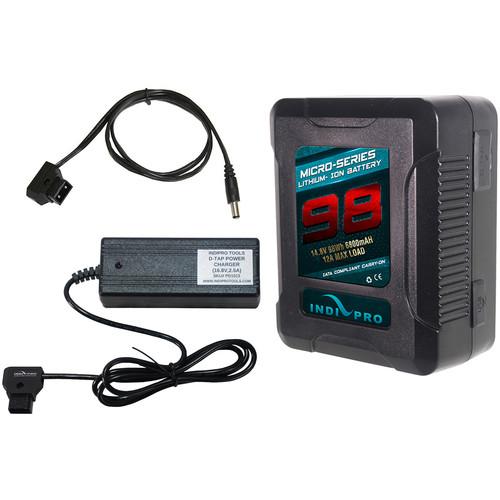IndiPRO Tools Micro-Series V-Mount 98Wh Blackmagic Cinema Camera Kit